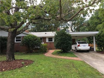 Single Family Home For Sale: 105 Caran Road