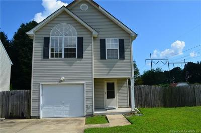 Single Family Home For Sale: 103 Mosel Court