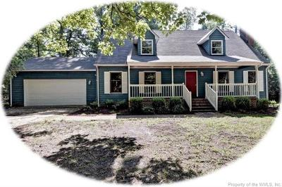 First Colony Single Family Home For Sale: 144 John Rolfe Lane
