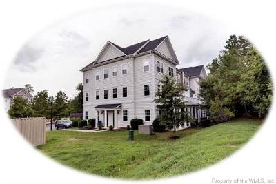 Williamsburg, Toano, Providence Forge Condo/Townhouse For Sale: 1306 Prosperity Court #1306