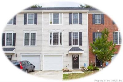 Hampton County, Isle Of Wight County, James City County, New Kent County, Suffolk County, Surry County, Williamsburg County, York County Condo/Townhouse For Sale: 124 Parkway Court #5G