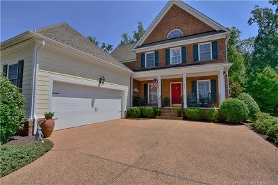 The Settlement At Powhatan Creek, Villas At Five Forks, Colonial Heritage Single Family Home For Sale: 4031 Coronation