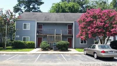 Condo/Townhouse For Sale: 1203 Jamestown Road #D4