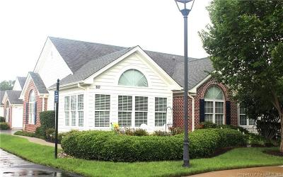 Yorktown Single Family Home For Sale: 327 Garman Loop