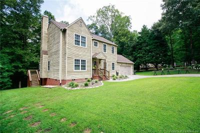James City County, Williamsburg County, York County Single Family Home For Sale: 4 Michelles Circle