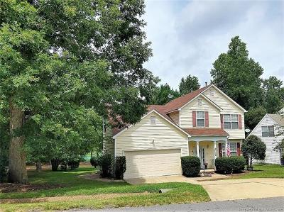Williamsburg Single Family Home For Sale: 4001 Driftwood Way