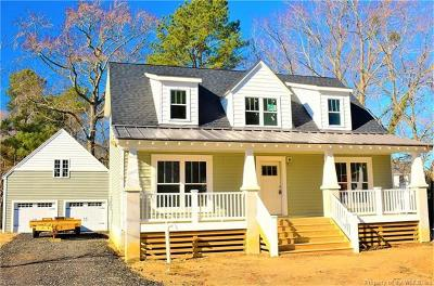 Charles City County, Isle Of Wight County, James City County, Surry County, York County Single Family Home For Sale: Lot 78 Bailey Drive