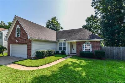 Yorktown Single Family Home For Sale: 100 Robin Hood Drive
