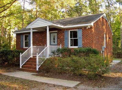 New Kent County Single Family Home For Sale: 2501 Quaker Road
