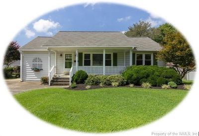 Hampton Single Family Home For Sale: 109 Cynthia Drive