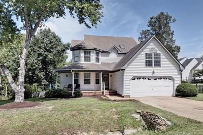 Williamsburg Single Family Home For Sale: 104 Heron Court