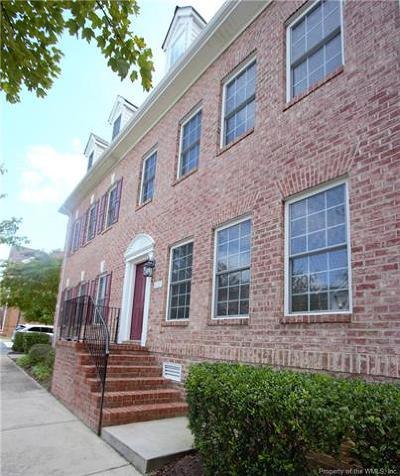 Hampton County, Isle Of Wight County, James City County, New Kent County, Suffolk County, Surry County, Williamsburg County, York County Condo/Townhouse For Sale: 4220 New Town Avenue