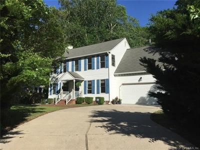 Williamsburg Single Family Home For Sale: 2891 Hidden Lake Drive