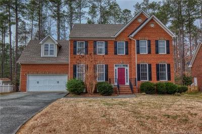 New Kent County Single Family Home For Sale: 5910 Brickshire Drive