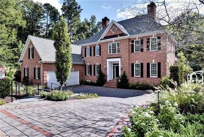 Williamsburg VA Single Family Home For Sale: $975,000