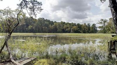 Toano Residential Lots & Land For Sale: 6616 Cranstons Mill Pond Road