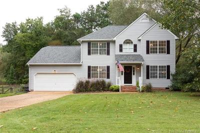 Williamsburg Single Family Home For Sale: 4484 Powhatan Crossing