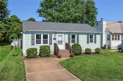 Single Family Home Sold: 606 Tappan Avenue