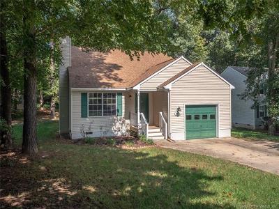 Williamsburg Single Family Home For Sale: 3905 Fox Hunt Trail