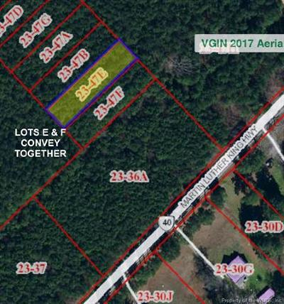 Charles City Co., Isle Of Wight County, James City Co., New Kent County, Newport News County, Suffolk County, Surry County, Williamsburg County, York County Residential Lots & Land For Sale: .34 Acres Martin Luther King Highway