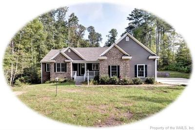 Single Family Home For Sale: 3495 Holly Fork Road
