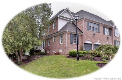 Hampton County, Isle Of Wight County, James City County, New Kent County, Suffolk County, Surry County, Williamsburg County, York County Condo/Townhouse For Sale: 145 Exmoor Court