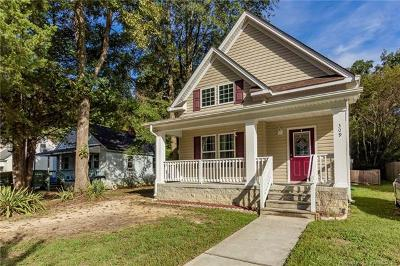 Single Family Home For Sale: 309 Roland Street