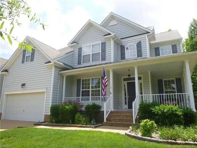 Williamsburg Single Family Home For Sale: 113 Merchant Man Court