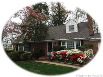 Williamsburg Single Family Home For Sale: 217 Captain Newport Circle