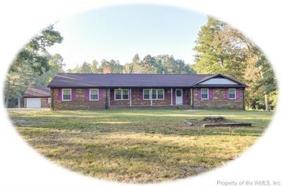 New Kent Single Family Home For Sale: 4247 New Kent Highway