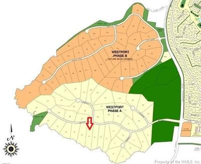 Fords Colony, Kingsmill Residential Lots & Land For Sale: 3451 Westport