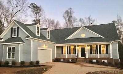 Williamsburg VA Single Family Home For Sale: $775,000