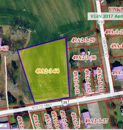 Charles City Co., Isle Of Wight County, James City Co., New Kent County, Newport News County, Suffolk County, Surry County, Williamsburg County, York County Residential Lots & Land For Sale: 0000 Rolfe Hwy Road