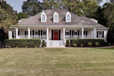 Williamsburg VA Single Family Home For Sale: $729,000