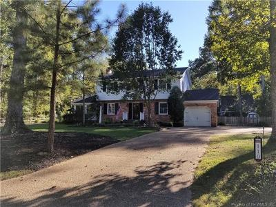 Williamsburg Single Family Home For Sale: 110 Argall Town Lane