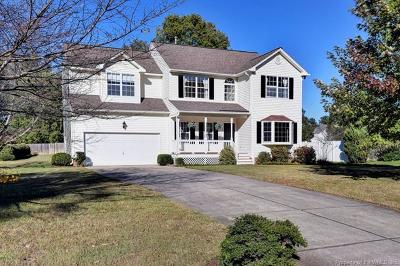 Williamsburg VA Single Family Home Sold: $318,125