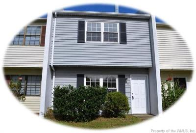 Charles City County, Isle Of Wight County, James City County, Surry County, York County Condo/Townhouse For Sale: 9 Harpoon Court