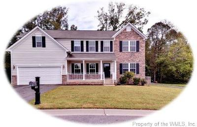 Charles City County, Isle Of Wight County, James City County, Surry County, York County Single Family Home For Sale: 3496 Frederick Drive