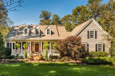 Charles City County, Isle Of Wight County, James City County, Surry County, York County Single Family Home For Sale: 9120 Manorwood Way
