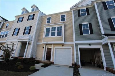 Charles City County, Isle Of Wight County, James City County, Surry County, York County Condo/Townhouse For Sale: 804 Prosperity #43