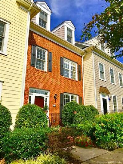 Hampton County, Isle Of Wight County, James City County, New Kent County, Suffolk County, Surry County, Williamsburg County, York County Condo/Townhouse For Sale: 4633 Town Creek Drive