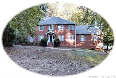 Toano Single Family Home For Sale: 7328 Little Creek Road