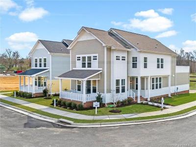 Hampton County, Isle Of Wight County, James City County, New Kent County, Suffolk County, Surry County, Williamsburg County, York County Condo/Townhouse For Sale: 1102 Hitchen's Lane