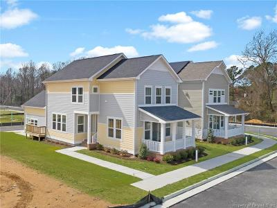 Hampton County, Isle Of Wight County, James City County, New Kent County, Suffolk County, Surry County, Williamsburg County, York County Condo/Townhouse For Sale: 1104 Hitchen's Lane