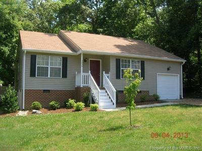 Williamsburg Single Family Home For Sale: 3809 Fox Hollow