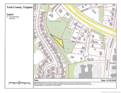 Charles City Co., Isle Of Wight County, James City Co., New Kent County, Newport News County, Suffolk County, Surry County, Williamsburg County, York County Residential Lots & Land For Sale: 119 Daisy Lane