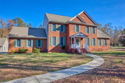 Single Family Home For Sale: 13610 Stage Road