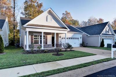 The Settlement At Powhatan Creek Single Family Home For Sale: 4205 Berry Square