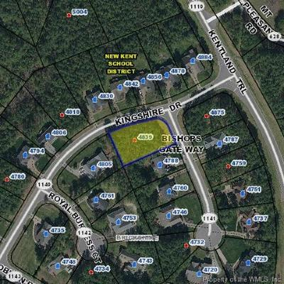 Charles City Co., Isle Of Wight County, James City Co., New Kent County, Newport News County, Suffolk County, Surry County, Williamsburg County, York County Residential Lots & Land For Sale: 4839 Bishops Gate Way