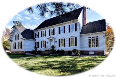 Governors Land, Kingsmill Single Family Home For Sale: 3256 Wingfield Lake Road